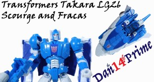 Scourge Transformers Takara Legends LG26 Deluxe Headmaster Fracas vs Hasbro Titans Return Toy