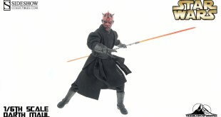 Sideshow Collectibles Star Wars DARTH MAUL Video Review