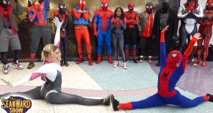 Spider-Man: SPIDER-VERSE vs Comic Con! Epic Cosplay Battle - The Sean Ward Show