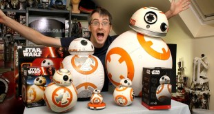 Star Wars BB-8 Unboxing Review & Comparison | Sphero, Bladez, Hasbro | James Bruton