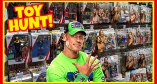 TOY HUNT!!! SHOCKED TO SEE JOHN CENA!!! WWE Action Figure Fun #124