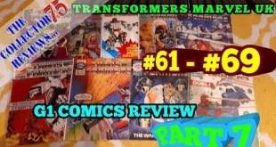 Transformers G1 UK COMICS Review Part 7 - #61 - #69