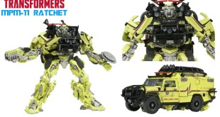 Transformers Masterpiece MPM- 11 RATCHET Announcement Thoughts
