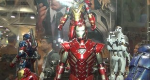 Upcoming Sideshow Collectibles San Diego Comic Con Hot Toys Iron Man Line 2013 review