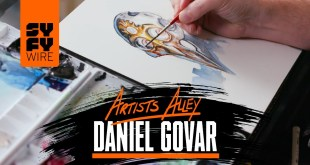 Watch Daniel Govar Paint An Android (Artists Alley) | SYFY WIRE
