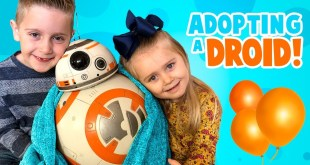 We're Adopting BB-8! Star Wars Hero Droid BB-8 by SpinMaster!