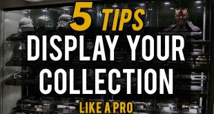 5 TIPS to Display your Collection LIKE A PRO --- Props, Statues, Star Wars & more