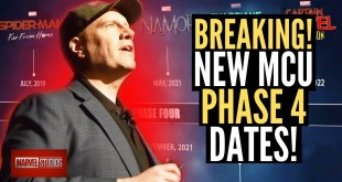 BREAKING MCU NEWS! Marvel Phase 4 ALL NEW DATES REVEALED!!