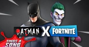 Batman In Fortnite Song Ft. Joker (DC Comics Crossover)