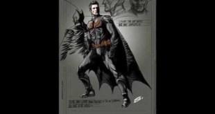 Ben Affleck as Batman Comic Book Concept Art