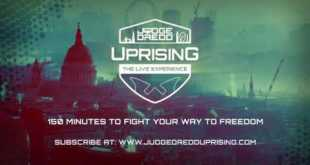COMING IN 2021: Judge Dredd Uprising: The LIVE Experience!