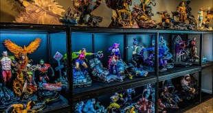 CRAZY STATUE MAN CAVE ROOM TOUR! Marvel, Horror, DC Comics, Star Wars, Transformers and MUCH MORE!