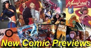 Comic Book Previews | New comics this week
