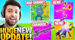 EVERYTHING Epic Didn't Tell You In The *HUGE* New Update! (Fortnite Battle Royale Patch Notes)