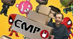 Emp, Emp , Emp 3 Boxes Of Funko Pops From Emp