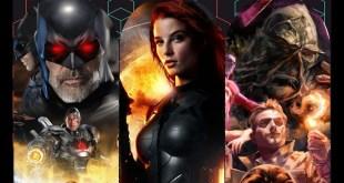 Fan made flashpoint poster: justice league dark movie concept art: G.I. Joe 3