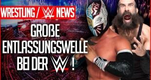 Große Entlassungswelle bei der WWE, NXT UK Titel geklaut!  | Wrestling/WWE NEWS 110/2019