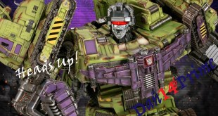 Heads Up! Imaginarium Art Transformers Legacy of Cybertron Devastator Statue Pre-order