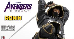 Iron Studios RONIN Avengers Endgame 1/10 Review BR / DiegoHDM