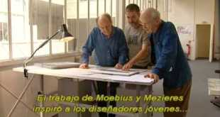 "Jean Giraud ""Moebius""  and Jean Claude Mezieres art concept in Fifth Element (sub Español)"