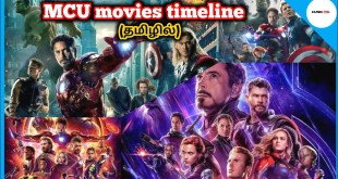 Marvel Cinematic Universe Movies Timeline | Marvel Studio | Tamil | Cosmic Info