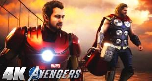 Marvel's Avenger's War Table - FULL 4K Beta Gameplay Showcase