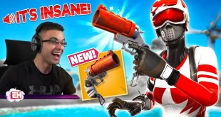 Nick Eh 30 reacts to NEW FLARE GUN in Fortnite!