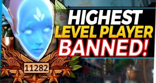 Overwatch update Highest Level Player in the World wrongly BANNED!?