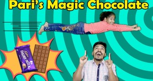 Pari's Magical Chocolate | Short FilmFun Story | Pari's Lifestyle