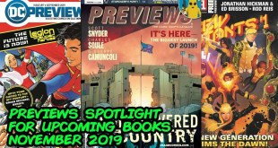Previews Spotlight - What Comic Books to Buy for November 2019!!