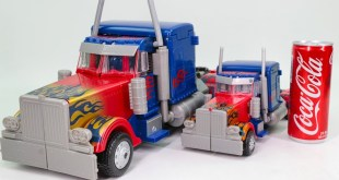 Transformers KO 50cm Big Oversiezd Optimus Prime & Leader Optimus Prime Truck Vehicle Car Robot Toys