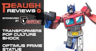 Video Review: Pop Culture Shock - Transformers OPTIMUS PRIME Classic Scale Statue