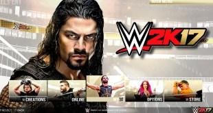 WWE 2K17 Demo Notion - Main Menu & Game Modes - PS4/XB1