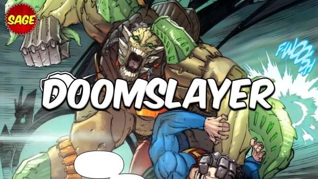 Who is DC Comics Doomslayer? Doomsday's Biggest Threat - Himself