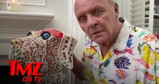 Anthony Hopkins Is Slowly Losing It During Quarantine | TMZ TV