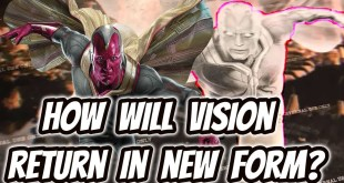 Avengers 4 Concept Art: How will Vision Return and Why he looks so different? Explained!!