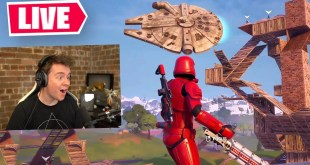 Fortnite X Star Wars LIVE (Full Event)