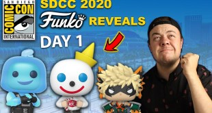 Funko Reveals SDCC 2020 Exclusive Funko Pops! DAY 1 (Pokemon, Ad Icons, Anime)