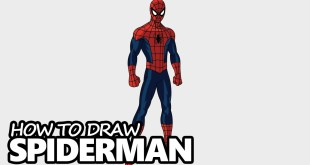 How to Draw Spiderman - Easy Step by Step Video Lesson