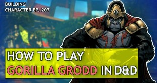 How to Play Gorilla Grodd in Dungeons & Dragons (DC Comics Build for D&D 5e)