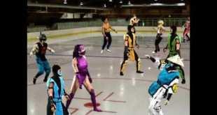 Mortal Kombat 2020 Disco Party w / Social Distancing  - Short Animated Video