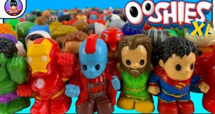 My Marvel & DC Comics Ooshies XL Collection!!