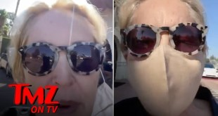 Sharon Stone Upset At Pilot For Not Wearing A Mask! | TMZ TV