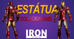 UNBOX: Iron Man Mark VII 1/10 - The Avengers - Iron Studios - Super Realista