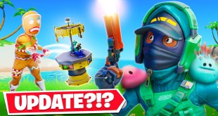 WEIRDEST UPDATE IN FORTNITE