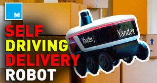 A Self-Driving Delivery Robot Is Finally Here! | [MASHABLE NEWS]