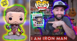 Avengers Endgame: I Am Iron Man Funko Pop - Unboxing & Review!