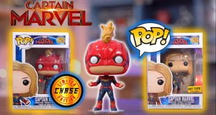 Captain Marvel Funko Pop Exclusives + Chase Haul and Review!