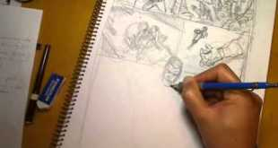 Creating a Comic Book Page Part 1