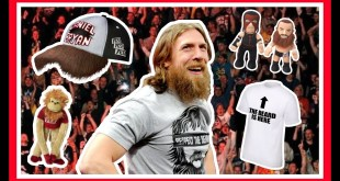 Daniel Bryan | WEIRDEST WWE Merchandise Items | Hats, Figures, Toys, T Shirts & Monkeys!